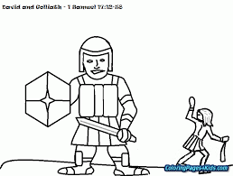 David And Goliath Coloring Pages Pdf Free Printable Coloring Pages