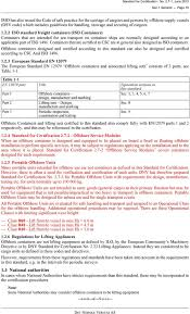 Dnv Padeye Design Calculation Offshore Containers No Standard For Certification June 2013