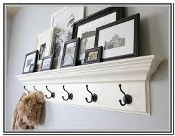 coat racks amusing wall mounted with shelf entryway