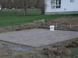 design of install paver patio home decor ideas diy patio installation how to build a paver patio
