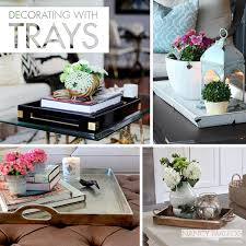 How To Decorate A Tray Decorating With Trays 2