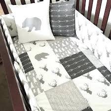 woodland themed nursery bedding gray themed nursery bedding new woodland nursery bedding in gray and white woodland themed nursery bedding