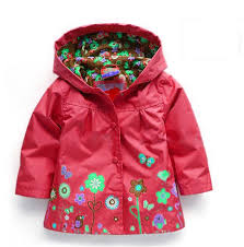 new style 75ed1 62c47 whole 2018 fashion baby girl outerwear outerwear coats blazer brand cotton trench