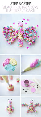 Princess Cupcake Cakes  PicmiaPull Apart Baby Shower Cupcakes