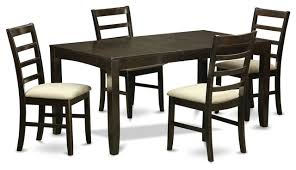 4 chair kitchen table:  piece dining table set for  table with leaf and  chairs for dining