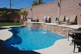 ... Charming Beautiful Backyard Pools For Backyard Landscaping : Cool Image  Of Backyard Landscaping Decoration Using Brown ...