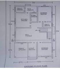 house plan drawing for 5 cent