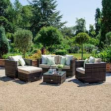 lyon 2 seater rattan sofa set brown lyon rattan garden sofa set zebrano