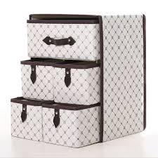 non woven household boxes 3 layer storage box closet organizer bin 5 drawers box assorted