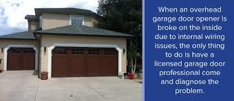 garage door switchCommon Garage Door Opener Problems When to Repair  Replace