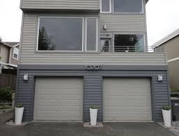 modern garage door. Before Modern Garage Door A