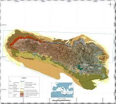 Distribution Of Posidonia Oceanica L Delile Meadows Around