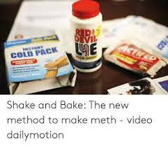 How To Make Shake And Bake Meth Cold Pack Contains2 Shake And Bake The New Method To Make