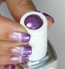 Holographic Marble Nail Art with Color Club Gel Polish - Lucy's Stash