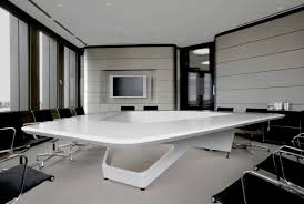 office conference table design. Brilliant Idea For A Design Conference Table. Beautiful Table Ideas Featuring White Smooth Surface Triangle Shaped Office E