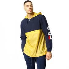 fila yellow jacket. fila ludo jacket yellow tonystreets