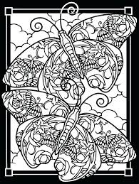 Coloring Pages Stained Glass Cross Coloring Pages For Adults