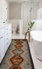 carpet runner farmhouse fixer upper hexagon floor tile midcentury modern rustic stool shaker southwestern area rug subway tile vintage white countertops