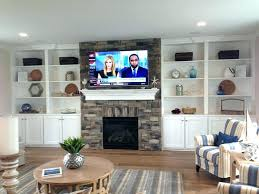 stone fireplace with built ins pin by on for the home fake rock in tv