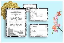 Wedding Template Classy 48 Modern Wedding Invite Templates For 48 Envato