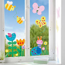 Fensterfolie Frühling Jako O Ostern Basteln Frühling Fensterdeko