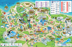 sea world san diego map  timekeeperwatches