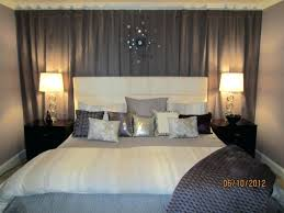 bedroom curtains behind bed. Behind The Bed Decor Curtain Wall Ideas About Curtains On Bedroom H
