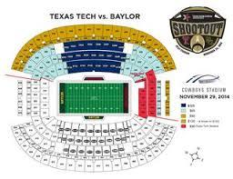 Texas Tech Vs Baylor Seating Chart By Texas Tech