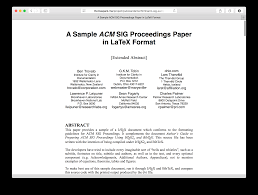 academic paper format pubcss formatting academic publications in html css thomas park