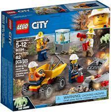 Đồ chơi lắp ráp LEGO City 60184 - Đội Đào Mỏ Chuyên Nghiệp (LEGO City 60184  Mining Team) giá rẻ tại cửa hàng LegoHouse.vn LEGO Việt Nam