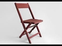wooden folding chair ideas