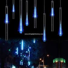 Lights That Look Like Snow Falling Promotional Waterproof Snow Falling Raindrop Lights Usb Port