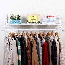 clothes rail wall mounted garment