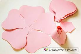 Giant Paper Flower Template Pdf Free Template And Full Tutorial To Make Giant Rose For Backdrop