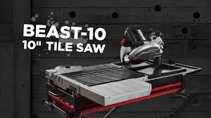 lackmond beast 10 wet tile saw