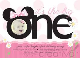 minnie mouse first birthday invitations along with impressive invitation template for your special birthday invitation template 29