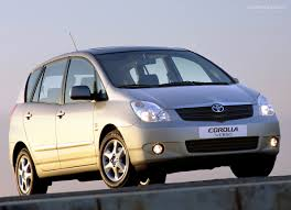 2002 Toyota Corolla verso – pictures, information and specs - Auto ...