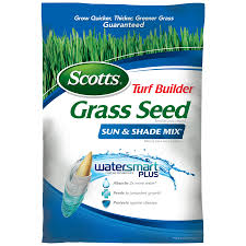 scotts 20 lb sun and shade seed