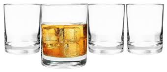 personalized 14 oz drinking glasses set of 4 no engraving