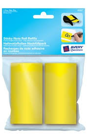 Avery 8383 Avery Zweckform 8383 Haftnotizrollen Nachfüllpack 60mm X 8m