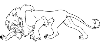 Small Picture Coloring Download Scar Coloring Page Scar And Zira Coloring Pages