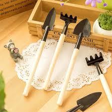 Kitchen Garden Kit 3pcs Mini Garden Hand Tool Kit Plant Gardening Shovel Spade Rake