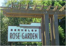 berkely rose garden sign