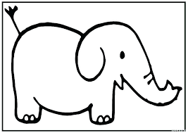 Baby Girl Elephant Coloring Pages Cute Baby Elephant Coloring Pages
