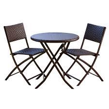 rst brands 3 piece patio bistro set