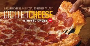 pizza hut pepperoni stuffed crust. Interesting Stuffed Pizza Hut Grilled Cheese Stuffed Crust Inside Pepperoni T