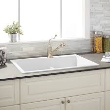kitchen magnificent farm sink cast iron sink with drainboard
