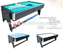 pool Pool Air Hockey Ping Pong Table Dining Tables Combined Combo View In