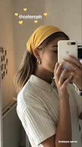 Pinterest: camrynjoycee | Hair scarf styles, Aesthetic hair, Scarf ...