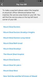 Mychart Mountsinai Org My Chart Mount Sinai Ny App For Iphone Free Download Mount Sinai Ny